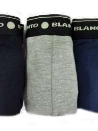 3 Pack Punto Blanco Boxer Basix. Talla XXL-60