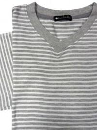 Pijama Verano Punto Blanco, gris claro