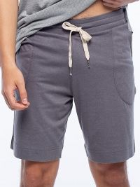 Pijama Punto Blanco Bionix de Bambú en Gris