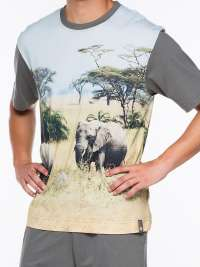 Pijama Punto Blanco Wildlife Elefantes