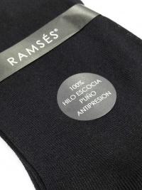 Calcetín Ramsés Hilo de Escocia negro