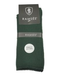 Calcetines Térmicos Ramsés sin puño en verde