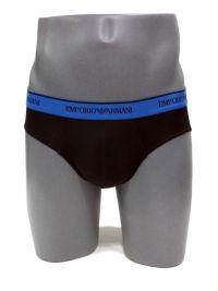 Slip Emporio Armani microfibra negro