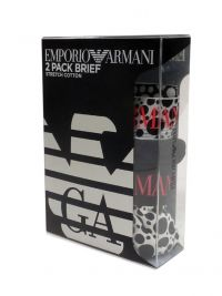 2 Pack Slips Emporio Armani con topitos