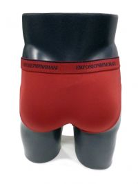 Slip Emporio Armani en microfibra rojo