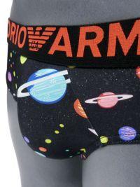 Slip Emporio Armani de Microfibra con planetas