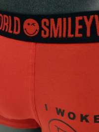 Boxer Smiley World en Rojo