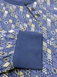 Pijama Soy Underwear Geométrico con puños