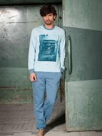 Pijama Soy Underwear Afelpado Vintage con puños