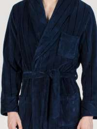 Bata Hombre Soy Underwear Clásica Azul de Coralina