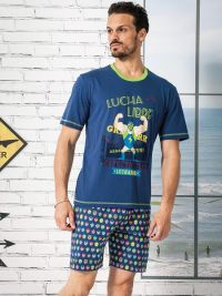 7d70ccb46 Pijama Soy Underwear Lucha Libre
