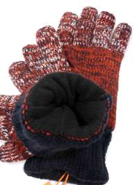 Guantes Superdry Térmicos Stockholm Red