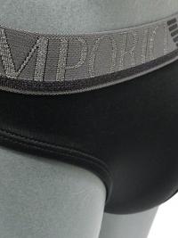 Tanga Emporio Armani Microfibra Negro