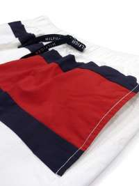 Bañador Tommy Hilfiger Logo Flag Blanco