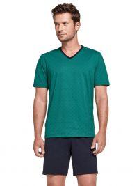Pijama Impetus de Algodón Bryony en verde