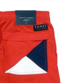Bañador Hombre Tommy Hilfiger Logo Rojo