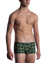Boxer Manstore Micro Pants estampado con hojas