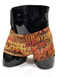 Boxer Minipants Olaf Benz Happy Birthday