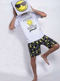 Pijama Hombre Smiley World Think Positive