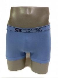 Boxer sin costuras UNCO en azul piedra
