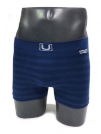 Boxer sin costuras UNCO rayas marino