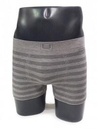 Boxer sin costuras UNCO rayas gris