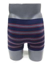 Boxer sin costuras UNCO a rayas azul marino