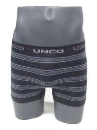 Boxer sin costuras UNCO a rayas en gris