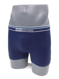 Boxer sin costuras UNCO en azul marino