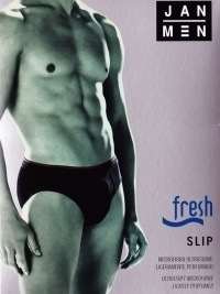 Slip Jan Men mod. Fresh en blanco