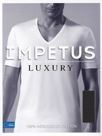 Camiseta Impetus Luxury Negra, en Hilo