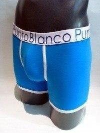 Boxer Prisma Azul, Punto Blanco