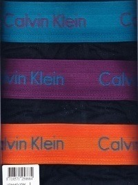 3 Pack Calvin Klein Boxers negros