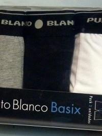 3 Pack Punto Blanco Boxers Basicos