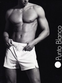 Boxer Punto Blanco en Hilo de Escocia