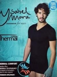 Camiseta Térmica Ysabel Mora pico m/corta blanca