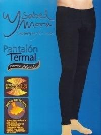 Calzoncillo largo Térmico Ysabel Mora en negro