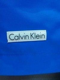 Bañador Liso Calvin Klein, Azul
