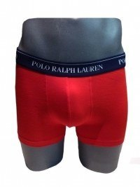 Boxer Polo Básico en Rojo