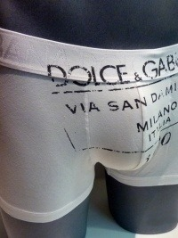 Boxer Dolce & Gabbana Blanco Via S. Damiano