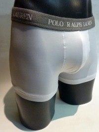 Boxer de Polo, Trunk Microfiber blanco