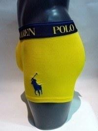 Boxer Polo en Amarillo
