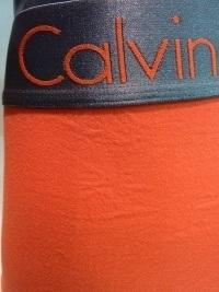 Boxer Calvin Klein Zinc Naranja