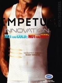 Camiseta Impetus Innovation Tirantes negra. Outlast
