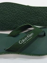 Chanclas de Playa Calvin Klein, Verde Oliva