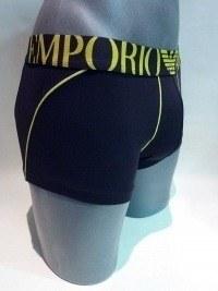 Boxer Microfibra Negro, Emporio Armani