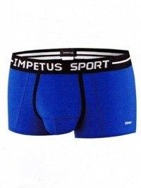 Boxer Impetus Sport Airflow Ergonomic Corto, Azul