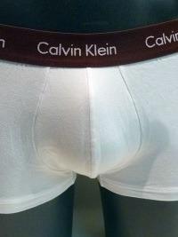 3 Pack Calvin Klein blancos, CTB