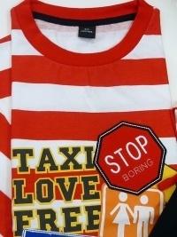 Pijama Verano Taxi Love, ADMAS