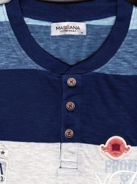 Pijama Azul Listado, Massana